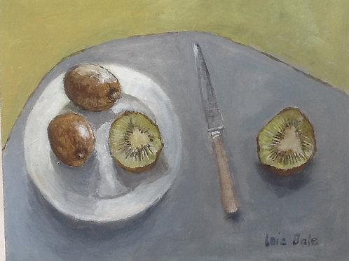 With Kiwi Fruits