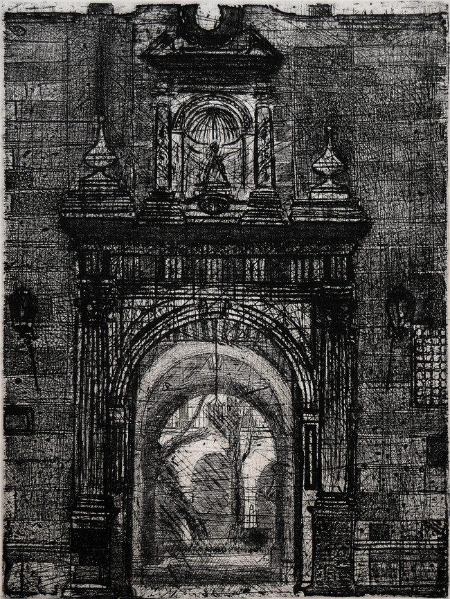 Museo Regional Medida de la placa: 40x39 cm  Medida total del papel: 79x54 cm  Técnica: Aguafuerte  Edición: 13 grabados numerados $22,040 MXN