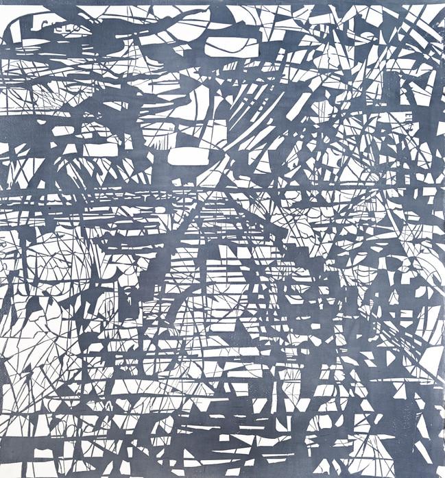 Muelle  Medida de la placa: 58x54 cm  Medida total del papel: 58x54 cm   Técnica: Grabado  Edición: 24 grabados numerados $16,240 MXN