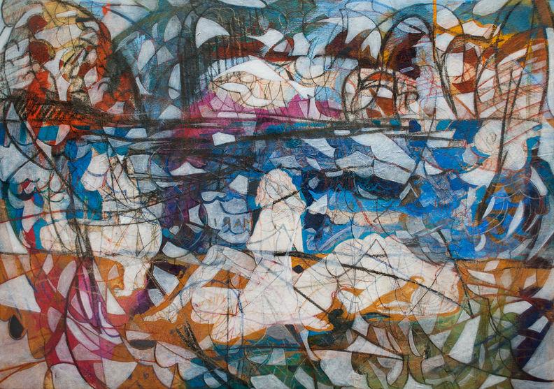 Mariana, 2014 102x146 cm Acrilico sobre tela