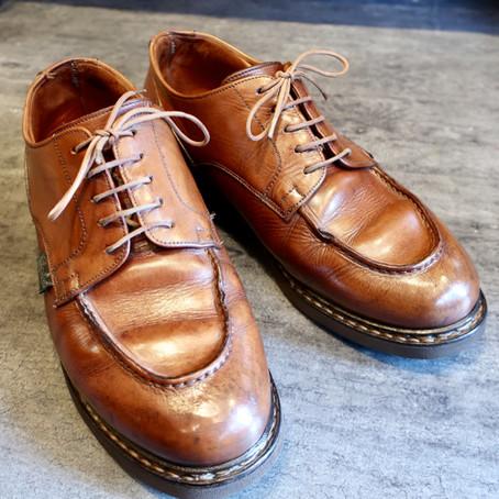 靴修理:パラブーツの靴みがき