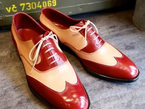 靴修理:スペシャル修理=靴作り