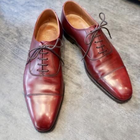 靴修理:レンデンバッハでオールソール