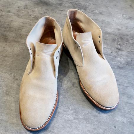 靴修理:チャーチのオールソール修理