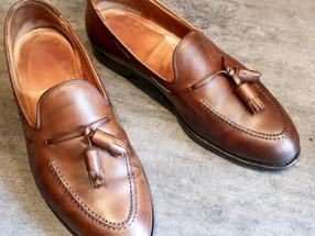 靴修理:クロケット&ジョーンズのオールソール修理