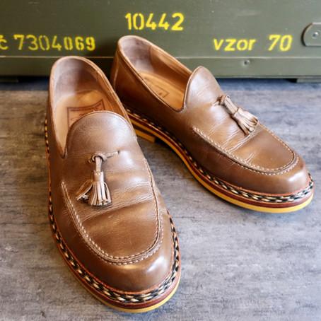靴修理:ハインリッヒ・ディンケラッカーのオールソールカスタム