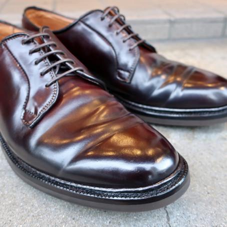 靴修理:オールデンのオールソール修理