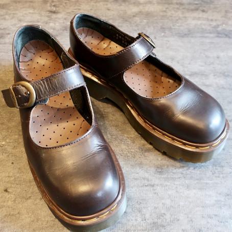 靴修理:ドクターマーチンのストラップゴム交換