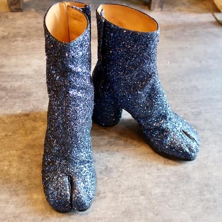 靴修理:足袋ブーツのハーフソール修理