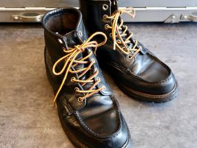 靴修理:レッドウィングの履き口の破れを補修しました