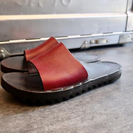 靴修理:ユッタニューマンの厚底サンダルをソールカットしました