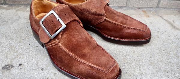 スエードの染め替え/靴修理例