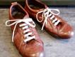 靴修理:レザースニーカーの靴磨き