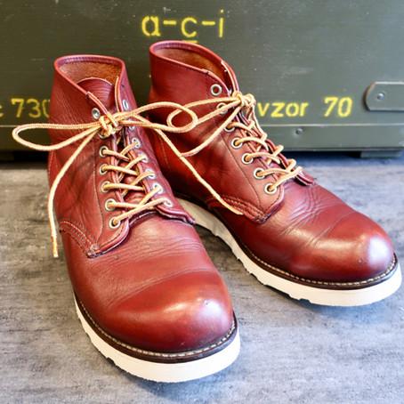 靴修理:レッドウィングのオールソール(#4014)
