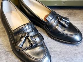 靴修理:オールデンのローファーをスペシャル修理