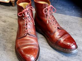 靴修理:ジョンロブブーツのプチカスタム