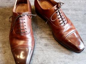 靴修理:チャネル仕上げでオールソール修理