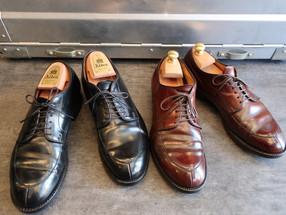 靴修理:コードバンのパックリ修理