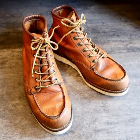 靴修理:レッドウィングのオールソール(Vibram#4014)