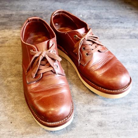 靴修理:オールソール(Vibram#2021)