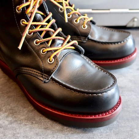 靴修理:レッドウィングのオールソールカスタム