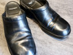 靴修理:サボの色補修とかかと修理