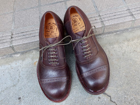 1950 Vintage Style /内羽根キャップトゥ(Msize) ONE and ONLY SHOES