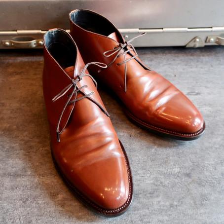 靴修理:オールソールで新品みたいになりました