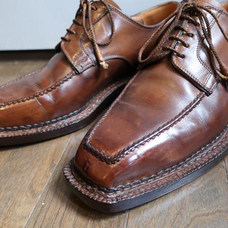靴修理:ベッタニン&ベントゥーリを染め替えました