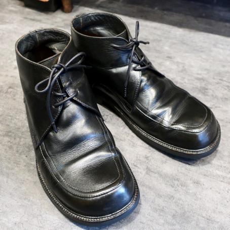 靴修理:フットプリンツのオールソール修理