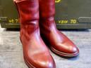 靴修理:ペコスブーツのオールソールカスタム