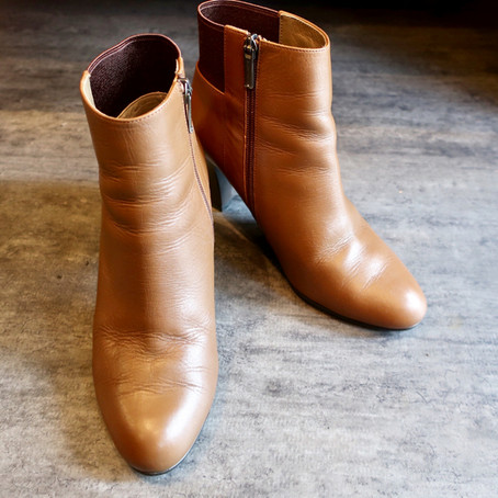 靴修理:婦人靴のキズ補修