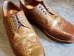 靴修理:ハインリッヒディンケラッカーのハトメ交換