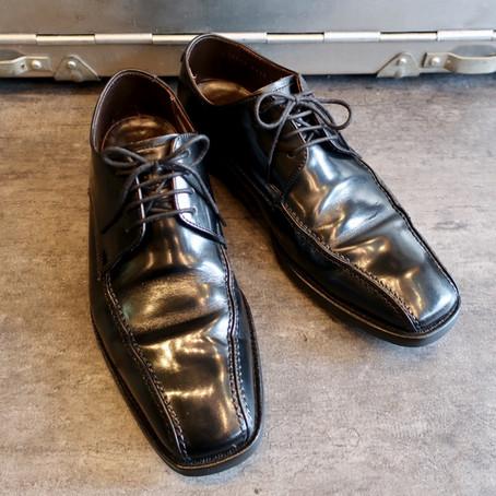 靴修理:リーガルのオールソール
