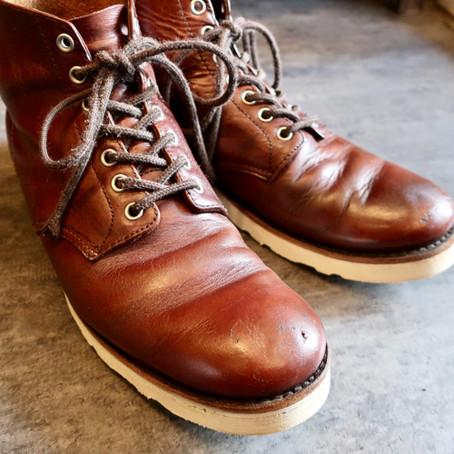 靴修理:ビブラム#4014でのオールソール修理