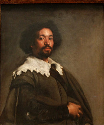 Oil Painting by Velasquez: Portrait of Juan de Pareja