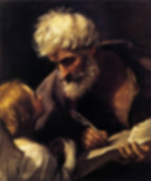Guido Reni's Painting of St.Matthew and the Angel