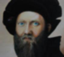 Closeup of face of Baldassare Castiglione