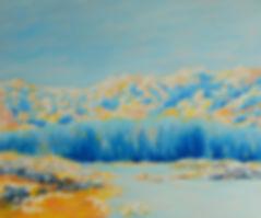 Landscape Oil Painting by Eric Sennhauser