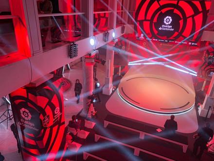 Presentación a medios de la eLiga Santander