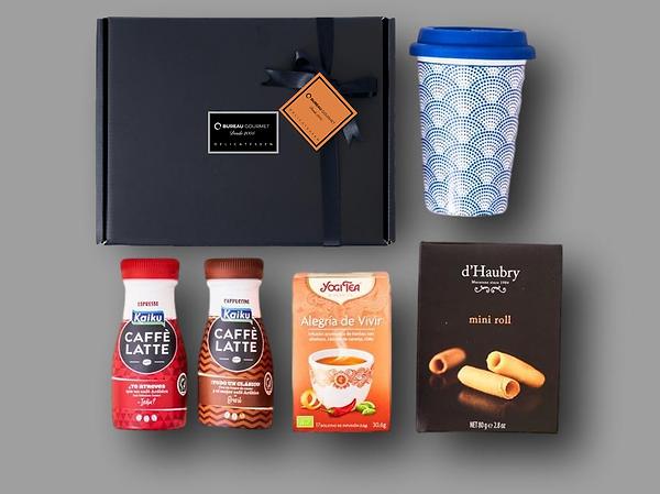cesta de desayuno para regalo de empresa