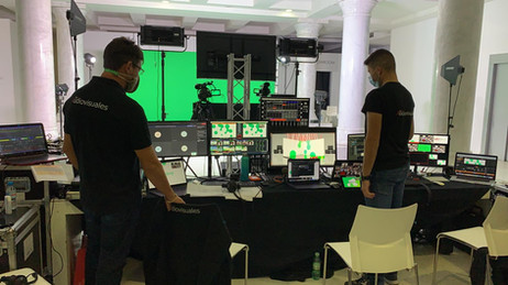 Streaming para eventos online Madrid