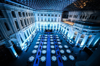 Cena de gala en Palacio Cibeles