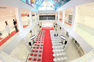 espacio para desfile de moda