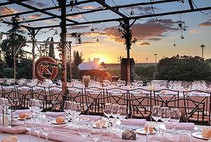 Terraza y jardines para eventos Madrid