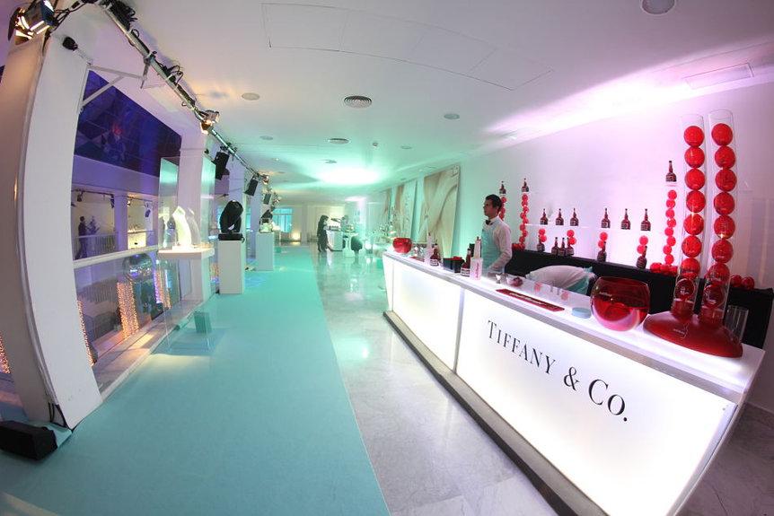 Tiffanny & Co en el Palacio Neptuno
