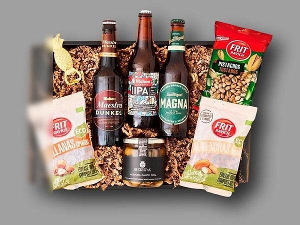 caja aperitivo gourmet para evento virtu