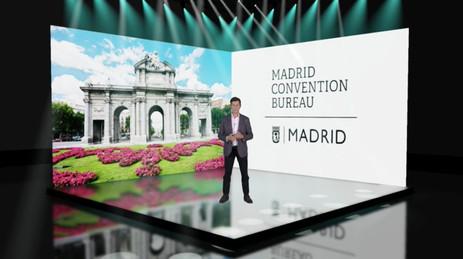 Madrid Convention Bureau - Escenario 3D