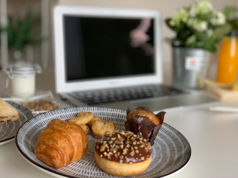 Caja de Desayuno para eventos virtuales online