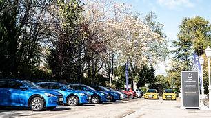 Exhibición de coches